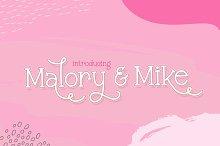 Malory & Mike Font Duo