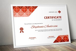 Triangles docx business certificate