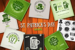 St. Patrick's Labels