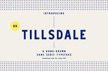 BN Tillsdale: Hand-drawn Font Family