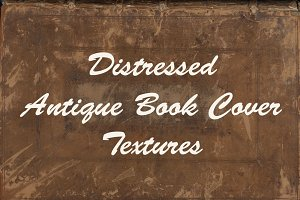 Distressed Antique Book Cover Textur