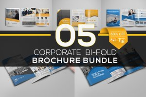 5 in 1 Bifold Brochure Bundle