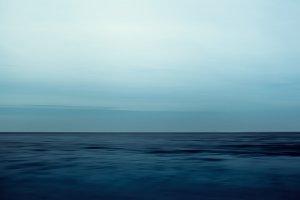 Ocean blur background