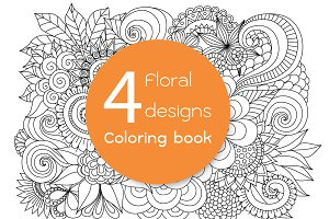 4 unique floral designs
