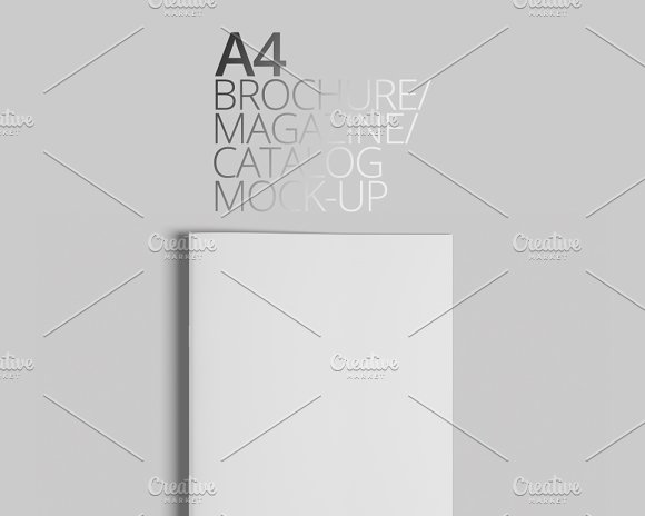 Download A4 Brochure/Magazine/Catalog Mock-Up