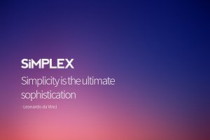 Simplex Business PowerPoint