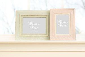 Styled Stock Frames Mockup