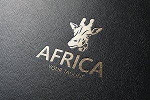 Africa - Giraffe Logo