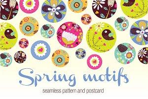 Spring motifs.