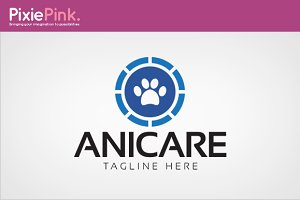 Animal Care Logo Template