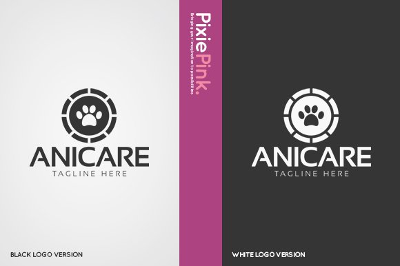 Animal Care Logo Template in Logo Templates - product preview 1