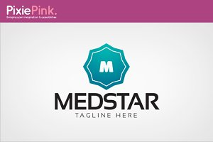 Med Star Logo Template