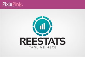 Reel Stats Logo Template