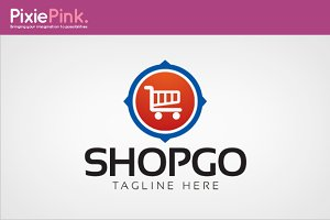 Shop Go Logo Template
