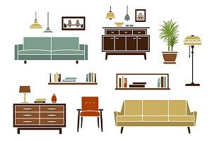 Furniture, interior accessories