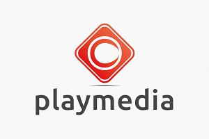 Play Media Logo Template