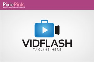 Video Flash Logo Template