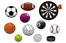 Sport items and game equipment