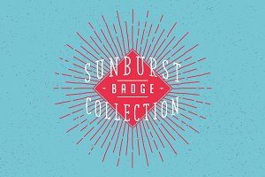 Sunburst Badge Collection