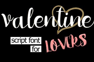 Valentine - A Script Font For Lovers