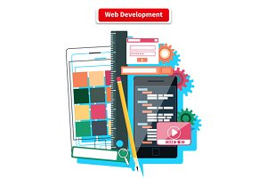 Web Development Concept