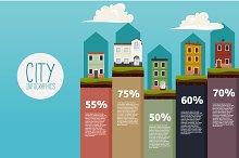 House Infographics Set