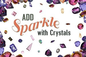 Crystals and Gems Bundle #4 - Assets