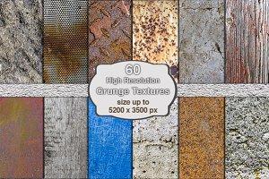 60 High Res Grunge Textures