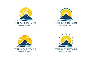 Elegant Mountain vol 4 logo template
