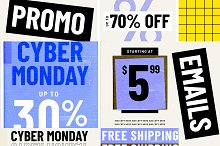 Black Friday Promo Email Templates by  in Templates