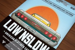 Low'n Slow Car Poster/Flyer V