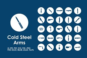Cold Steel Arms icons