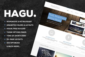 Hagu - Multipurpose Wordpress Theme