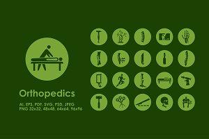 Orthopedics icons