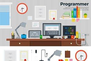 Programmer workspace
