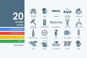 20 Beer icons