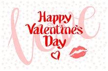 happy valentines day love kiss heart
