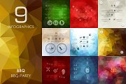 9 BBQ infographics