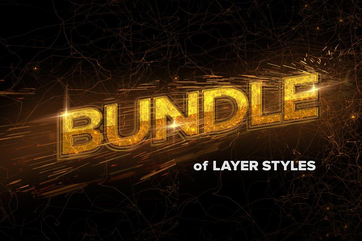 bundle o CreativeMarket - 6 in 1 BEST Effects Bundle 514315
