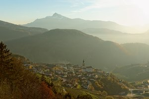 Trentino area, nortern Italy