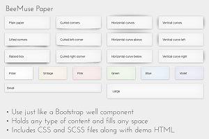 Paper component