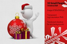 3D Small People - Christmas Ball