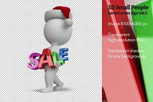 3D Small Santa - SALE