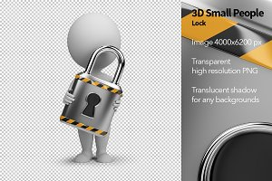 3D Small People - Lock