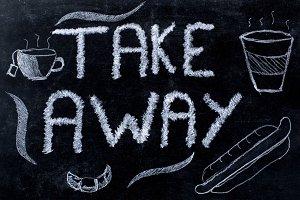 Take away advertisement