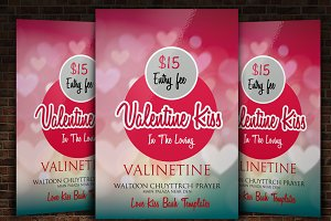 14th Feb Valentine Flyer Templates