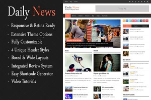 DailyNews - WordPress Magazine Theme