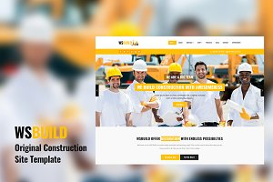 WS Build Construction Site Template