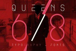 QUEENS 68 - Fonts.