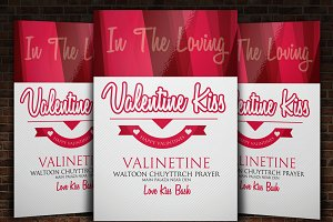 Valentine Flyer Templates